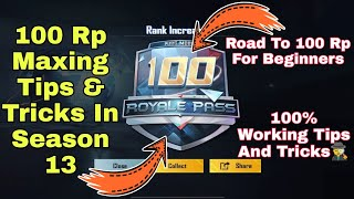 How To Complete 100 Rp In Pubg Season 15 l How To Complete 100 RP In Season 15 Tips And Tricks