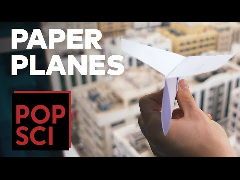 How to Make a Record Breaking Paper Plane