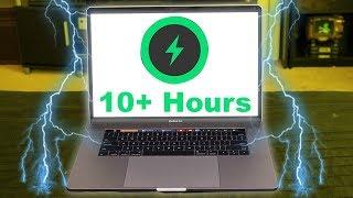 New MacBook Pro Battery Life Test