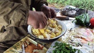 Кухня в стиле рыбалки