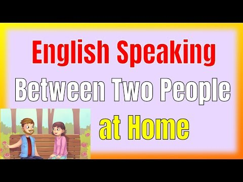 Learn Spoken English Easily ★ Practice English Speaking Between Two People at Home ✔