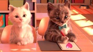 Little Kitten My Favorite Cat Pet Care Kids Games - Baby Learn Colours With Little Kitten Preschool