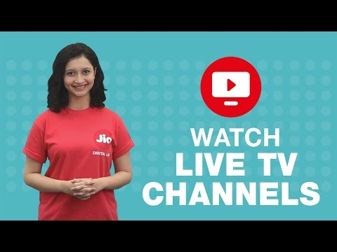 How to watch Live TV channels or programs on JioTV?