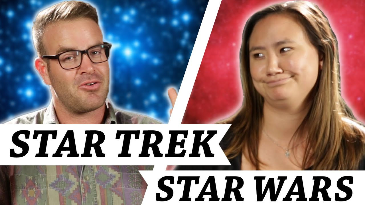Star Trek Vs. Star Wars • Debatable thumbnail