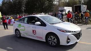 Toyota Pace Car at the P2A 2018 Race