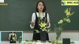 스펙에이스]국가자격증 화훼장식기능사 실기2강