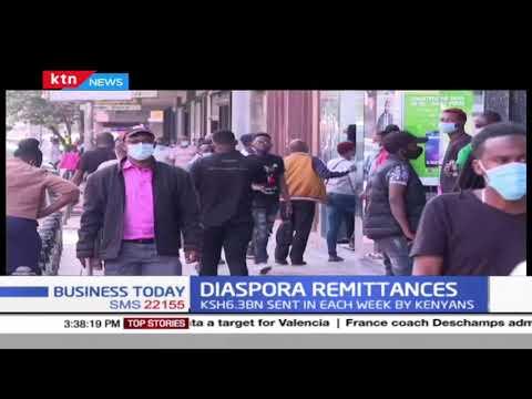 Diaspora Remittances: Kenyans abroad send home Ksh 329.4BN as rise in remittances registered