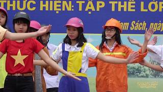 Nhảy dân vũ Giao thông đường phố  - Tập thể lớp 10C  - Trường THPT Nam Sách II