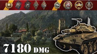 World of Tanks / T49 .. 7180 Dmg