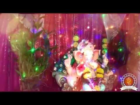 Ankush Lohakare Home Ganpati Decoration Video