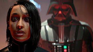 Star Wars Jedi Fallen Order DARTH VADER Entrance Scene Final Boss Ending (2019)