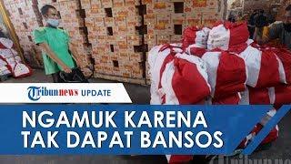 Video Warga Ngamuk karena Dicoret dari Daftar Penerima Bansos, Kepala Desa: Mereka Orang Mampu