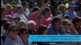 Ángelus en el Jubileo Mariano 9-10-2016