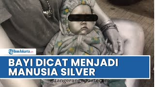 Viral Foto Bayi Dijadikan Manusia Silver di Tangerang Selatan, Satpol PP: Ada Sanksi dari Dinsos