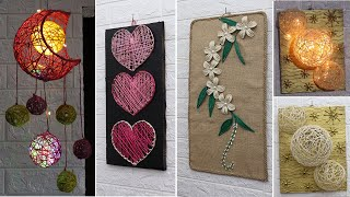 6 Jute Craft Ideas | Home Decorating Ideas Handmade | New 2020