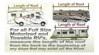 ADCO - How To Measure an RV for a Roof Cover