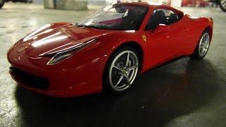 RC Ferrari 458 Italia LaFerrari Engine Sound Start Up Test Drive Car In Depth Review Walkaround