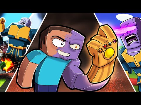 Play THANOS in Minecraft! (Infinity Gauntlet Mod)