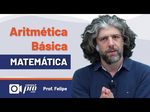 MATEMÁTICA - ARITMÉTICA BÁSICA 20MIN