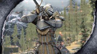 ▶Skyrim Remastered: Warden Armour ♦️MOD SHOWCASE♦️ | Killerkev ✔️