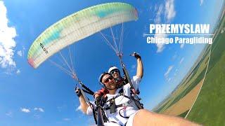 Tandem with Przemyslaw | Chicago Paragliding