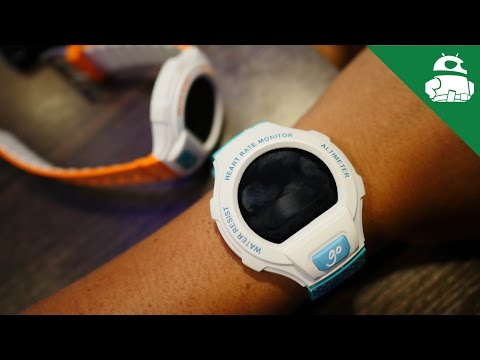 Alcatel OneTouch Go Watch First Look