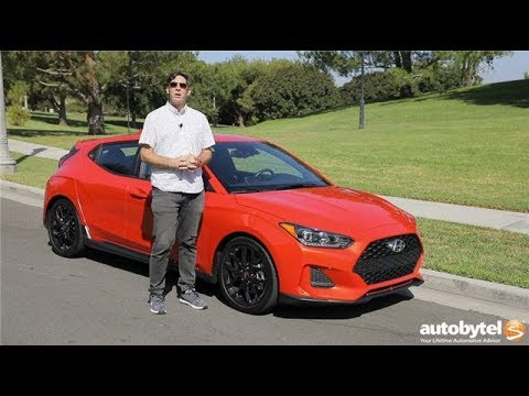 2019 Hyundai Veloster Turbo R-Spec (M6) Test Drive Video Review