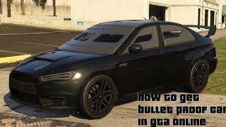 How To Get Bullet Proof Car (Kuruma) in GTA 5 Online (2019)
