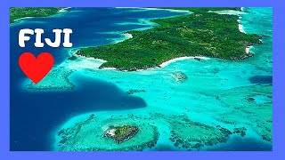 Flying above FIJI ISLANDS ✈️ and landing in the city of Nadi, scenic views! (Pacific Ocean)