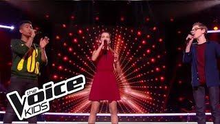 "Maria / Théo / Kelvin - ""Say, say, say""   The Voice Kids France 2017   Battle"