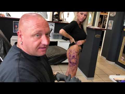 Tiger Tattoo gestochen bei Bunte Tinte Tattoo