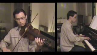 Un Canto, Andrea Bocelli (Violin & Piano)