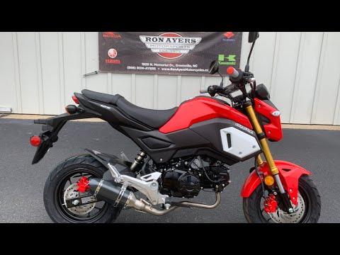 2020 Honda Grom in Greenville, North Carolina - Video 1