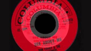 Don Covay & The Goodtimers - See about me