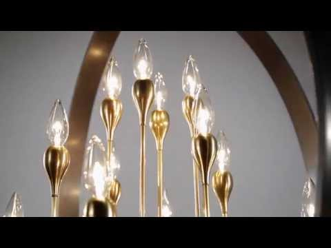 Video for Dresden Aged Old Bronze Two-Light Mini Pendant