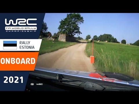 ヒュンダイのヌービルのオンボード映像 WRC 2021 第7戦ラリー・エストニア