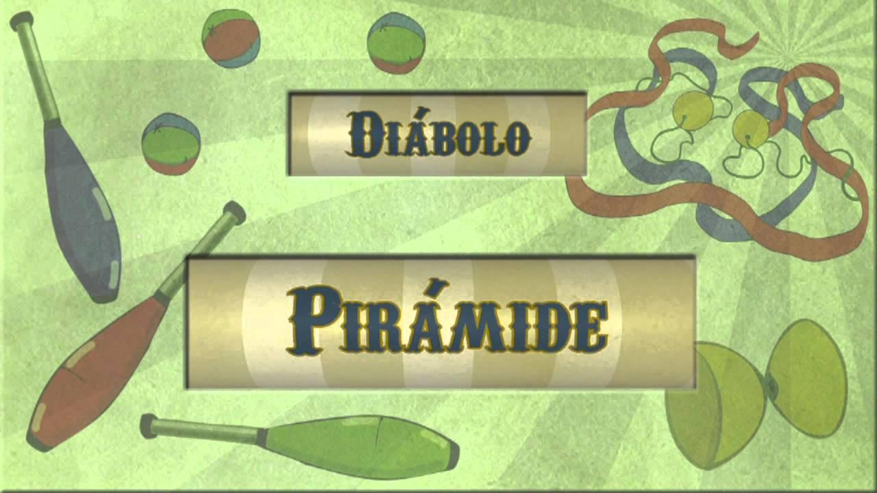 Archi malabares diábolo: Pirámide