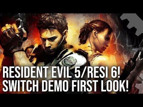 Resident Evil 5 + Resi 6 On Nintendo Switch! Demo Graphics Comparisons + Performance Testing!