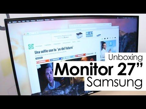 Unboxing: Monitor Samsung de 27 pulgadas