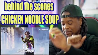 J HOPE   Chicken Noodle Soup (feat. Becky G) MV Shooting Sketch | REACTION!!! (English Sub)
