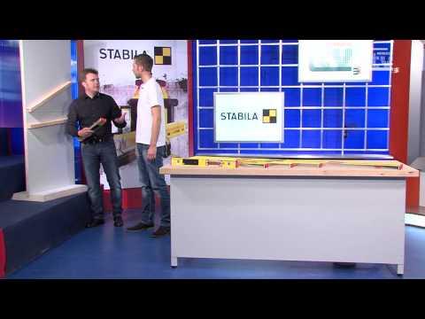 WERKZEUG TV #17 elektronische Wasserwaage - STABILA