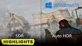 Windows 11 for gaming: new Auto HDR graphics features REVEALED!