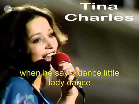 Tina Charles   Dance little lady, dance with lyrics   YouTube