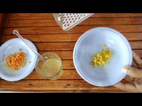 Video Cara Membuat Jamu Kunyit Untuk Mengatasi Anak Susah Makan