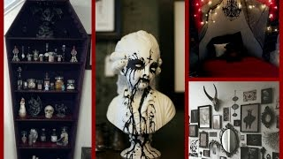 Gothic Halloween Decor Ideas - Goth Room Decor Inspiration