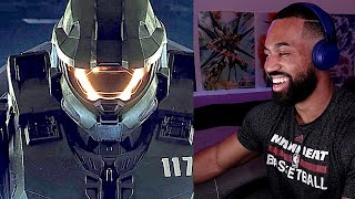 Halo Infinite Campaign Gameplay - REACTION!!