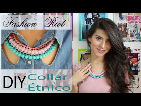 DIY Collar étnico  | Fashion Riot
