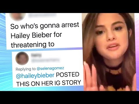 Selena Gomez Releases Song with Hidden Message, Fans Go After Hailey Bieber