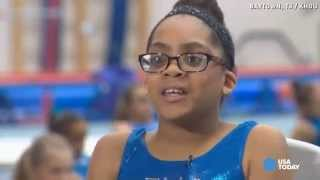 Download Youtube: 11-year-old blind gymnast aims for Olympics