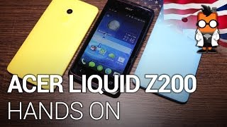 """Acer Liquid Z200 - Entry level smartphone with Android """"KitKat"""" - hands on at Computex 2014 [ENG]"""